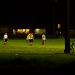 Football at night/Futbol por la noche