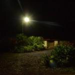 Lámparas led en jardines