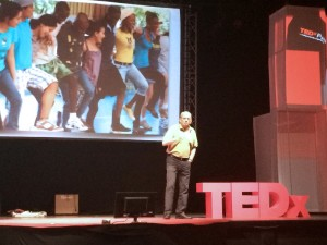 """EARTH President José Zaglul presents at TEDx Pura Vida 2014 with his talk entitled """"Between peace and chaos."""""""