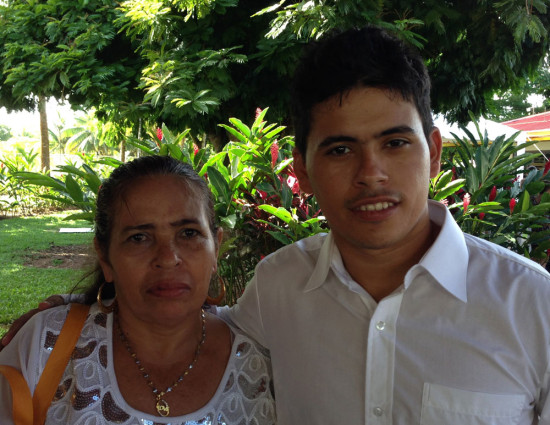 """I never imagined that Reynaldo would go on to study at a university. For me, it's a wonder, a miracle,"""