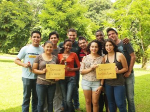 Student business owners from La Doña and Kokedama S.A. generously donate a portion of their profits back to EARTH.