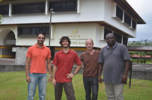 Víctor Morales, Olmo Ríos, Sergio Callau, Walter Ndonkeu.