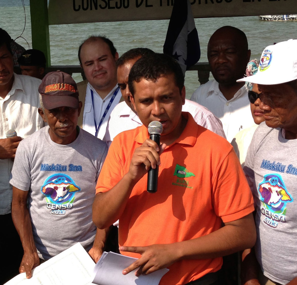 EARTH alumnus Norvin Goff Salinas ('06, Honduras) is the president of a Coalition of Indigenous Groups in La Mosquitia.