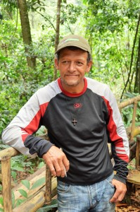 Local dairy farmer and wildlife expert Rodrigo Ureña works closely with EARTH students and the CDP.