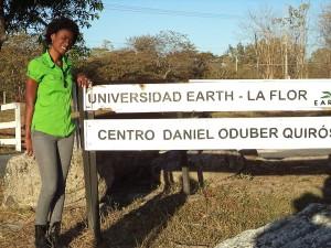 Stephanie Andressol ('15, Haiti)