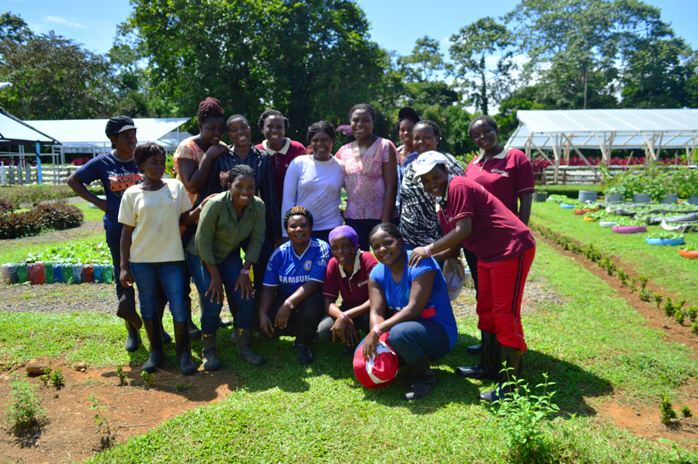 Camfed International representatives from Tanzania, Zambia and Zimbabwe will spend six weeks learning sustainable agriculture at EARTH.