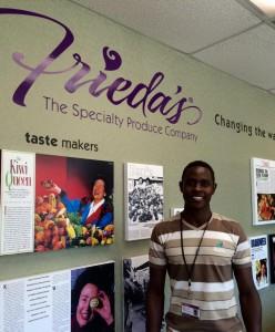 Isaiah Lekesike ('15, Kenya)