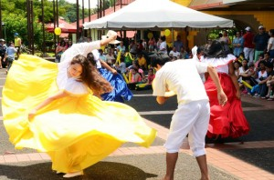 Traditional dances from all the cultures represented at EARTH were part of the Fair.