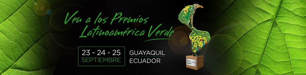 The Latin American Green Awards will take place from September 23 to 25.