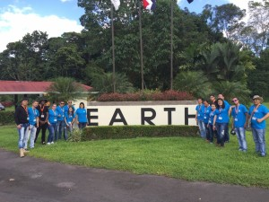"""Students from SENA-Colombia who will be participating in the short course """"Sustainable Tourism and Community based Rural Tourism."""""""