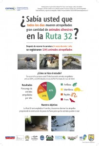 The results of the study were compiled in an informational poster and distributed widely throughout Costa Rica. (available only in Spanish)