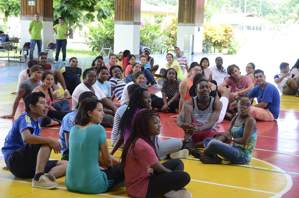 The students were on the Orientation Week and got to know each other.