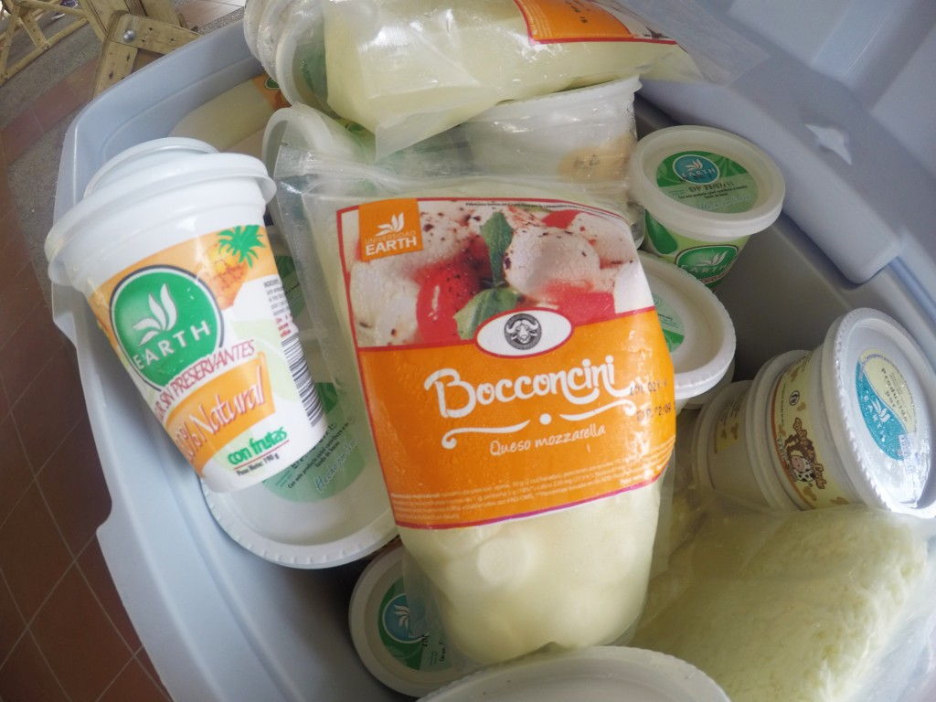 Dairy products are also processed inside the university, including cheese, yogurt, dulce de leche, and more.