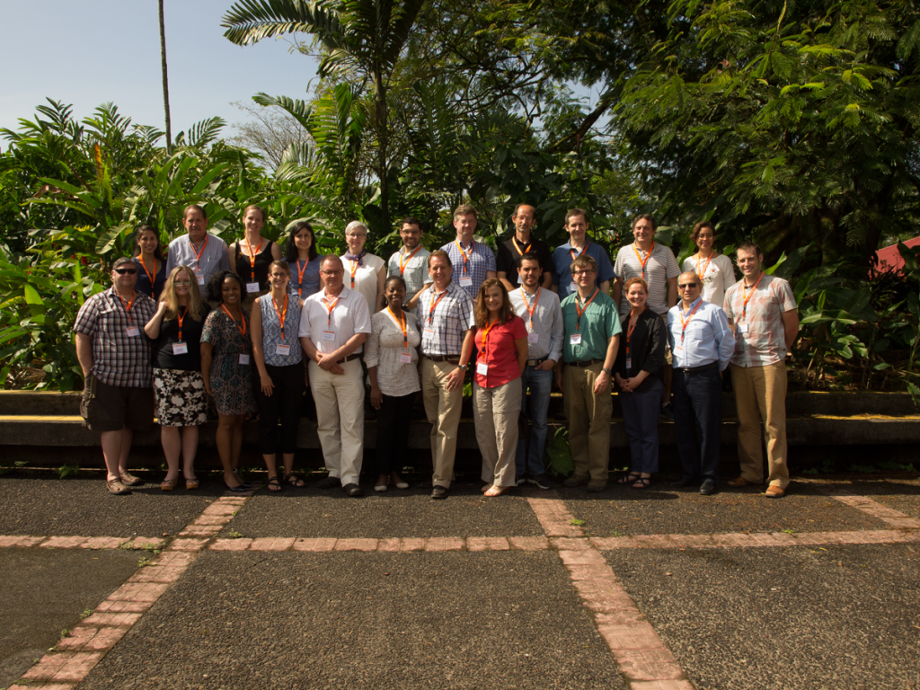 The participants from the first International Conference on Sustainability and Education.