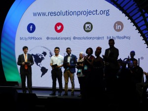 Juan represented EARTH at the 2015 One Young World Summit in Bangkok, Thailand, where he was awarded a social venture fellowship by The Resolution Project.