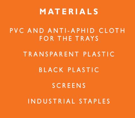 Deshidratador materials