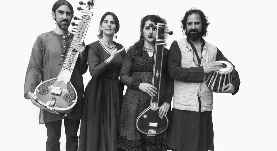 Ensamble de música tradicional india BHiM. Foto/Festival de Música CREDOMATIC