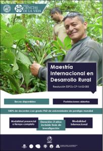 Maestría Internacional en Desarrollo Rural