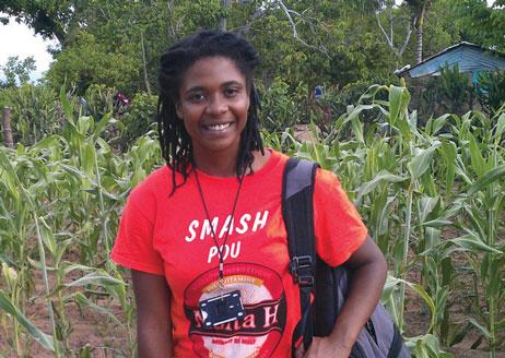 Lynhe Demesyeux ('13, Haití)