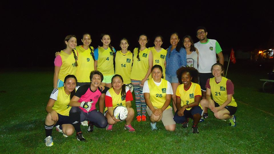 During her study at EARTH, Abigael (bottom row, second from the left) developed a passion for soccer and was part of the team that came in first place in the 2016 university tournament.