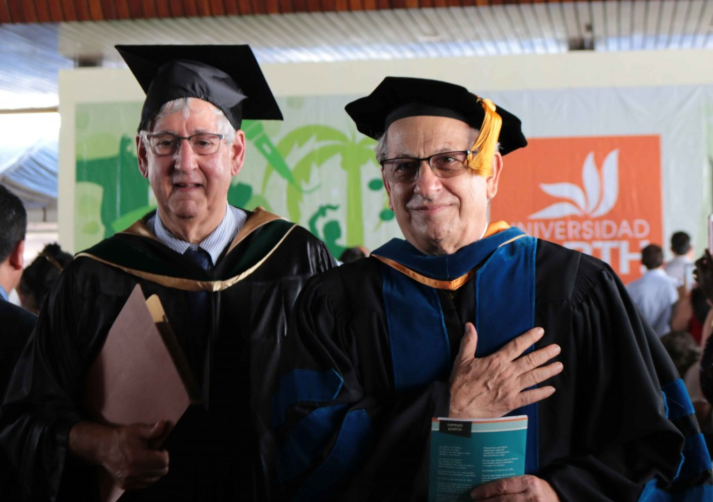 This year's graduation ceremony was José Zaglul's last one as president of EARTH University.