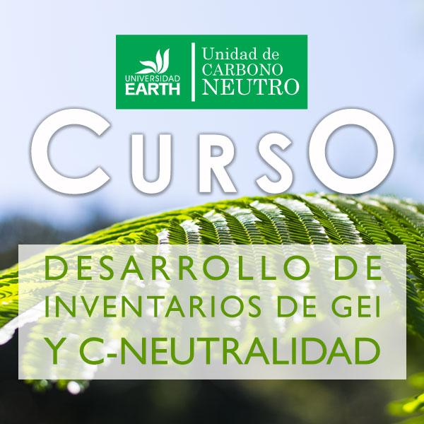 Curso: Desarrollo de inventarios de GEI y Carbono Neutralidad.