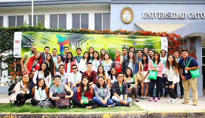 Group photo of summit participants. (Source: WSEN's Facebook)