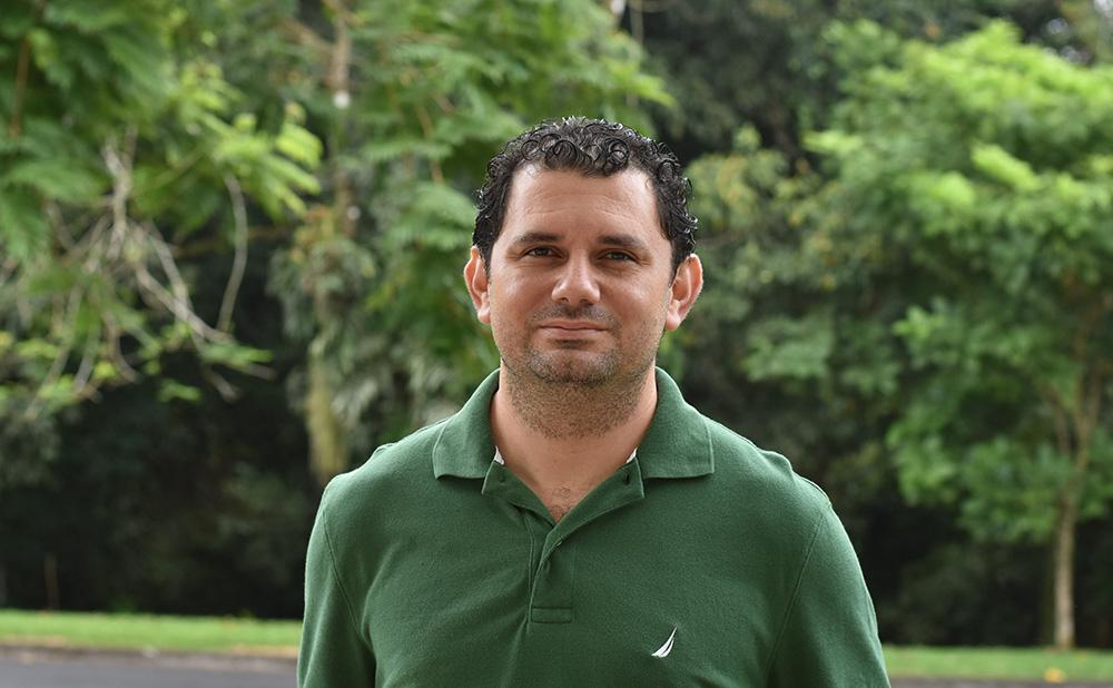 Daniel Carballo, profesor de Reproducción Animal y Lactancia.