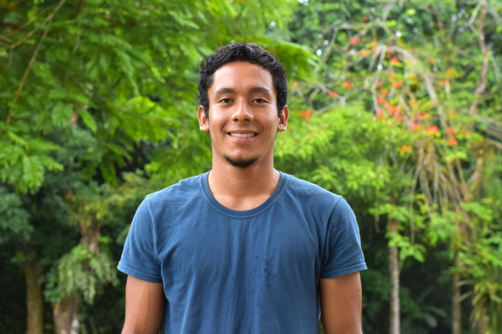 Osael Maroto, operations manager at Mayca Food Service, has supported EARTH for more than 10 years.  One of the beneficiaries is Dennis Gutiérrez ('20, Belize).