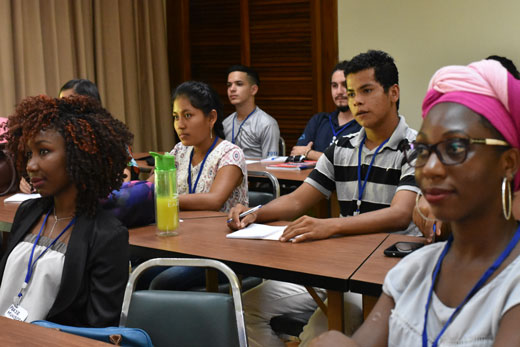 Student participants learned about networking, environmental economics, pitching and more at the YPARD-inspired event.