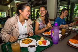 On-campus cafeteria offers delicious and healthy breakfast