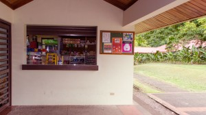 La Jama, our small convenience store, to buy snacks, late-night hot foods, toiletries and other essentials.