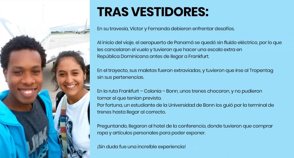 Durante su viaje, Víctor y Fernanda tuvieron unos imprevistos. Haz click en la imagen para leer el detalle.