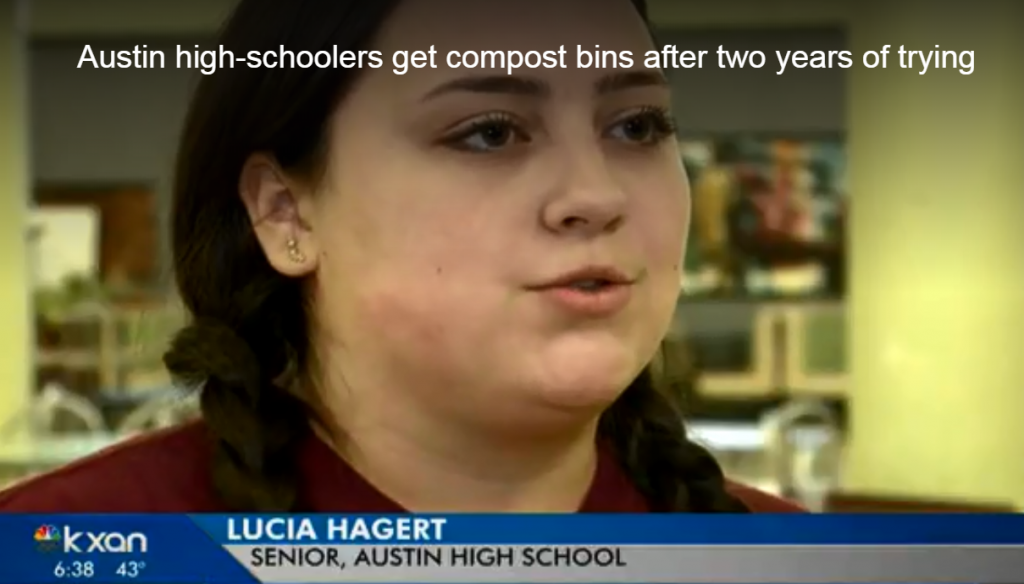 The students' story was broadcast by the local NBC affiliate in Austin, Texas.
