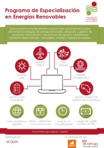 Especialización en Energías Renovables