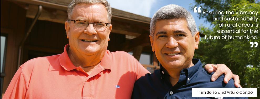 Tim Solso y Arturo Condo