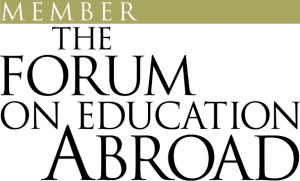 We are a proud member of: The Forum on Education ABROAD