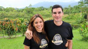 Ana Hazel Pérez ('94, Costa Rica) and Pablo Céspedes ('94, Costa Rica)