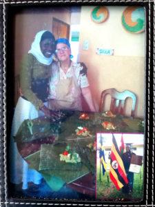 Doña Chepita with graduate Fatuma Birungi ('17, Uganda)