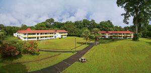 La residencia estudiantil en el campus de Guácimo.