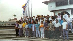 La promoción de 1993.