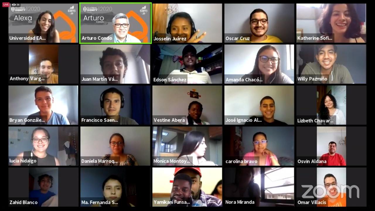 La celebración del Día de la Dignidad fue virtual.