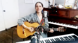 Debi Nova shared her own story and her music.