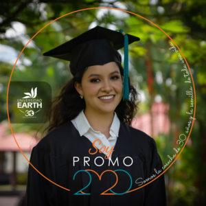 Graduation portrait of Carmen.