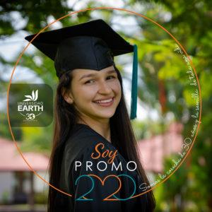 Graduation portrait of Fiorella.