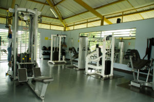 Thanks to ASHA's support, the gym will be renovated.